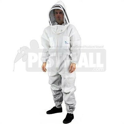 Vented Bee Suit -eco-keeper Premium Professional Beekeeping Suit - Large Size