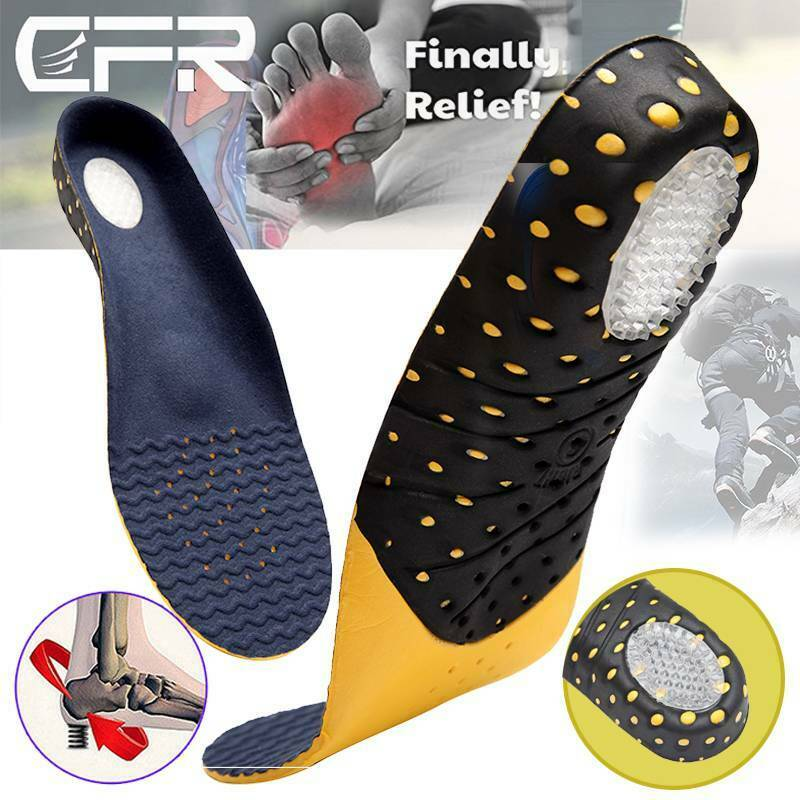 Men Women Orthotic Sport Running Insoles Insert Shoe Pad  Ar