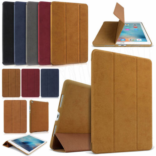 """For iPad 9.7"""" 2018 Pro 10.5"""" 11"""" 12.9"""" 2018 Suede Leather Sm"""