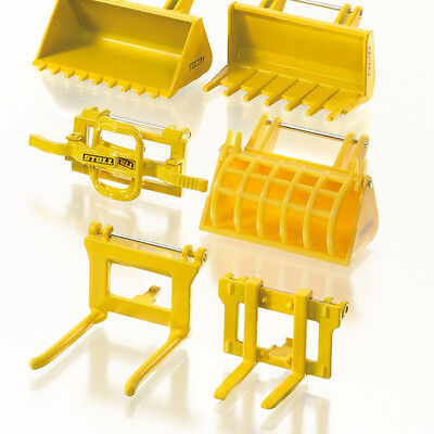 Siku 7070 Stoll Tractor Frontloader Accessories Stoll Set Scale 1:32