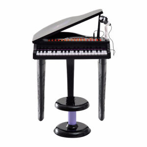 Mini Electronic Musical Piano 37 Key Keyboard Kid Toy Microphone