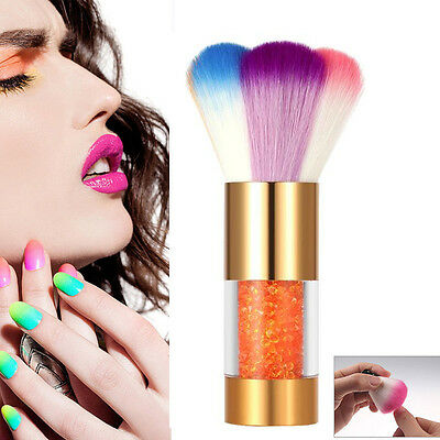 New Colorful Nail Tools Brush For UV Gel Nail Art Dust Cleaner Nail Dust Brushes