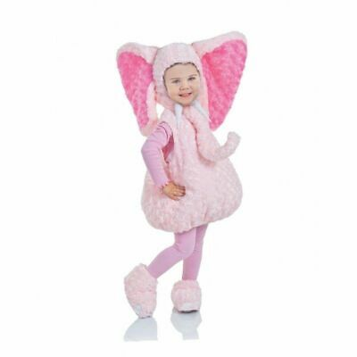 Underwraps Pink Elephant Belly Babies Toddler Infant Halloween Costume 25817](Infant Toddler Halloween Costumes)