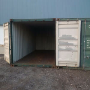 20 ft Storage Container Sea for rent in Cambridge Fenced Yard