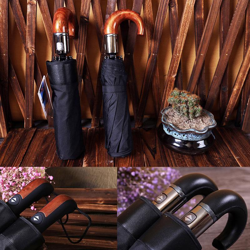 Classic Men Umbrella Automatic Umbrella Folding Wind Resista