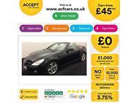 Mercedes-Benz SLK300 FROM £45 PER WEEK!