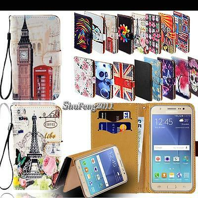 Leather Stand Flip Wallet Cover Phone Case For Samsung Galaxy S2 S3 S4 S5 S6 S7 - Samsung S3 Case