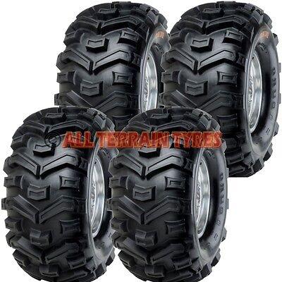 25x8.00-12  &  25x10.00-12 Set of 4 Duro Buffalo Quad ATV Tyres  Like Bearclaw