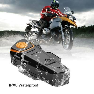 UK Motorcycle Motorbike Helmet Bluetooth Headphone with GPS FM Radio