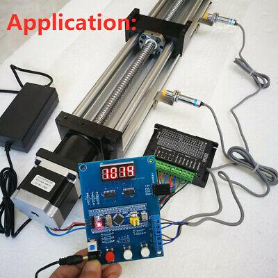 Stepper Motor Driver Controller Power Supply Kit Pul Dir Diy Cnc 24vdc Nema23