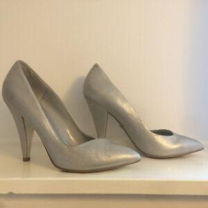 Silver High Heels by Fergie