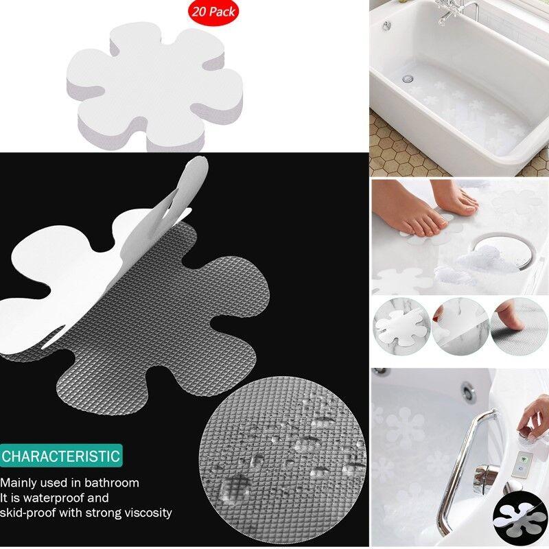 10//20 Anti Slip Grip Strip Non-Slip Safety Flooring Mat Bath Tub Shower Sticker*