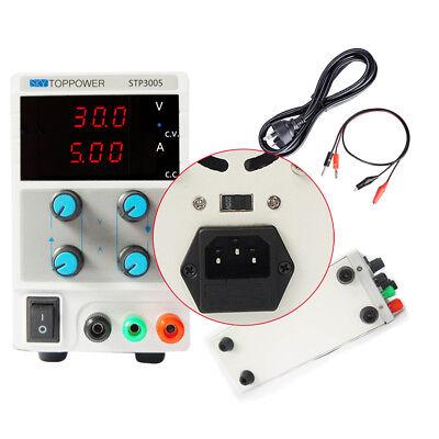 Present 30v 5a Dc Power Supply Adjustable Variable Digital Lab Grade 110220v