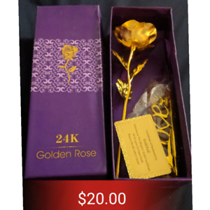 24K Gold foil rose (Great gift)