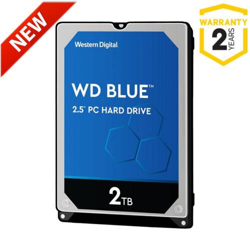 "2TB WD Blue WD20SPZX 2.5"" 5400rpm SATA Laptop Hard Drive HP Dell Asus Lenovo PS4"