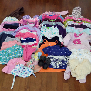Everything you'll need for a baby girl 12-24m (60+ Items)