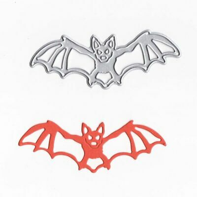 Halloween Bat Metal Cutting Dies Stencil Scrapbook Paper Card Embossing Crafts](Scrapbook Paper Crafts)