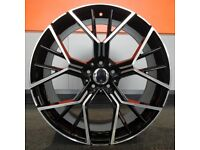 """19"""" 552 Style wheels and tyres suitable for a new model BMW 1 series & 2 Series 5x112"""