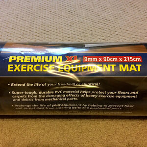 Premium XL Exercise Equipment Mat (new, still in packaging)