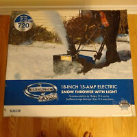 New sealed in original box- Snow Joe Ultra SJ623E Snowblower