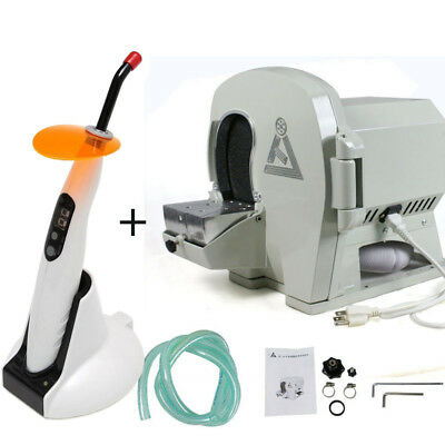 Wet Dental Model Trimmer Abrasive Disc Wheel Gypsum Arch Deviceled Curing Light