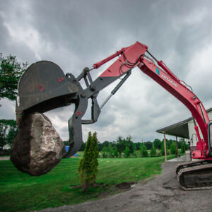 Excavator Thumbs - Canadian Built - Free Delivery - All Sizes