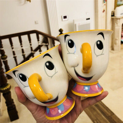 1Pc 2018 Limited  Beauty And The Beast Chip Character Ceramic Mug