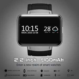 Smart Watch DM98 Large Screen WiFi Bluetooth Android 5.1 3G GSM