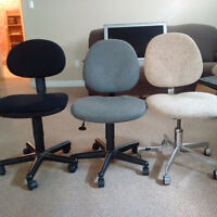 3 office chairs for sale