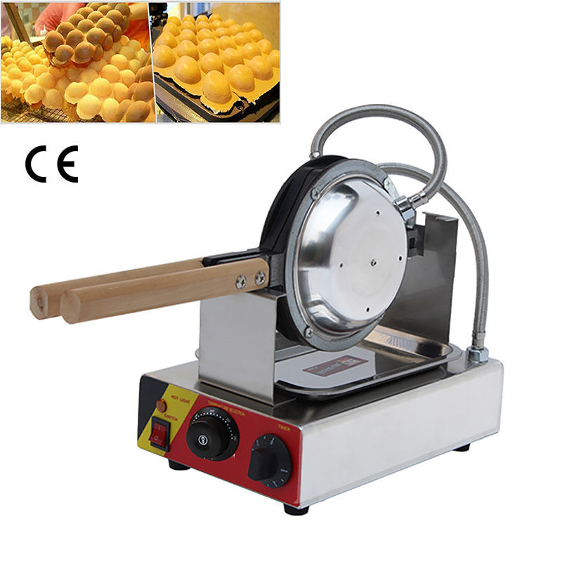 Electric Waffle Maker ~ Commercial nonstick electric hot dog lolly waffle stick