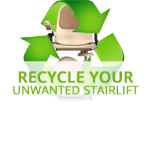 Removal of unwanted stairlifts! Cash! Stair lift! Chair Lift!