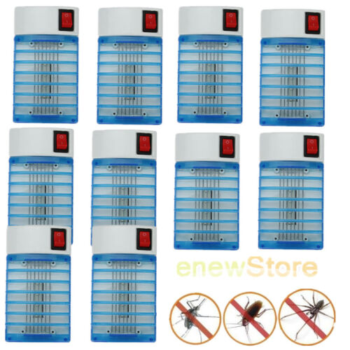 10 X Electric LED Socket Mosquito Fly ...