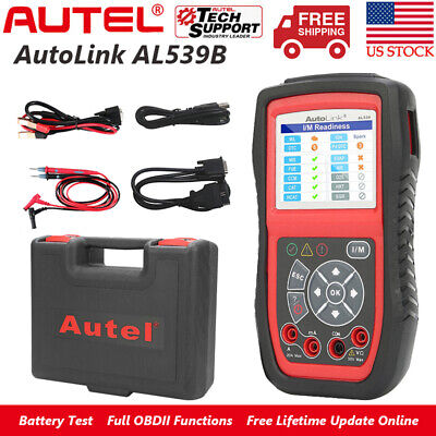Autel AL539B Car OBD2 Scanner Diagnostic Tool Battery Tester Auto Code