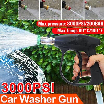 High Pressure Washer Wand Gun Turbo Spray Nozzle Hose For Garden Car House Clean