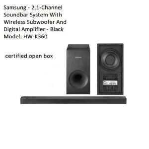 Samsung HW-K360 2.1 Channel 130 Watt soundbar sound bar