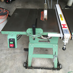 General Table Saw and extension Table