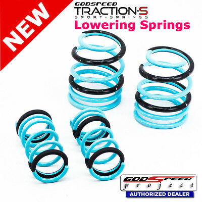 Sti Sport Springs - Traction-S Sport Springs For SUBARU STI 2015+UP VA1/VA2 Godspeed# LS-TS-SU-0005