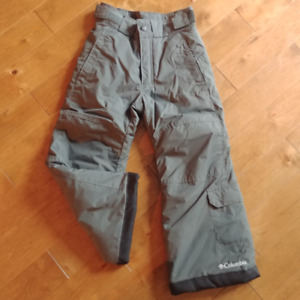 Size 4/5 kids Columbia snowpants (grey)