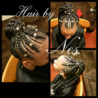 Weaves. Braids. Dreads. All hair textures welcomed