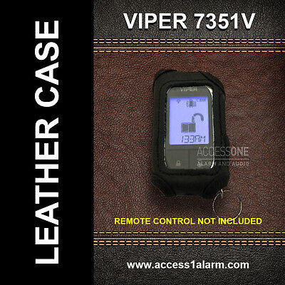 Viper 7351V Leather Remote Control Case