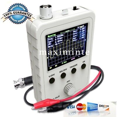 Fully Assembled 2.4 Inch Lcd Display Digital Oscilloscope Dso150 W Test Clip
