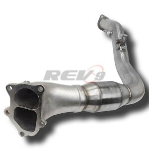 08-14 wrx/ 08-17 sti Rev 9 Catted 3 inch downpipe, NEW in stock