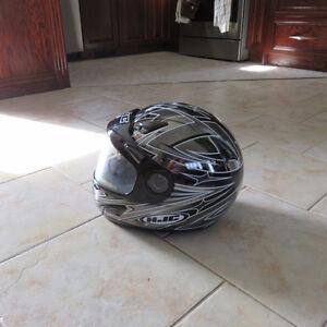 casque motoneige ou moto