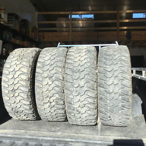 """Awesome 35"""" set of tires!"""