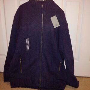 New with tags..men's xl...sweater coat from Marks Workwearhouse
