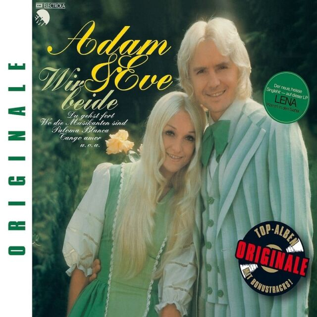 ADAM & EVE - WIR BEIDE (ORIGINALE)  CD NEU