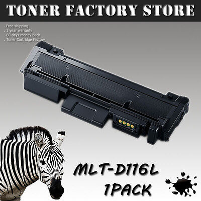 1PK MLT-D116L Toner Cartridge For SAMSUNG SL-M2835DW SL-M2885FW SL-M2625D