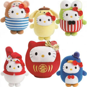 McDonalds 2015 CNY Hello Kitty Bubbly World Plushies Set of 6