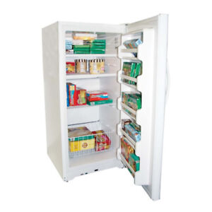White 13.8 Cubic Foot Upright Freezer for sale