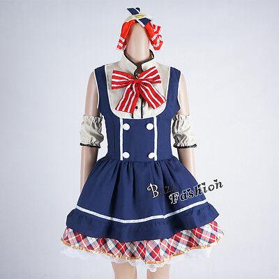 US Love Japan Lolita Women Maid Dress Halloween Cosplay Costume Outfit](Halloween Costumes Japan)